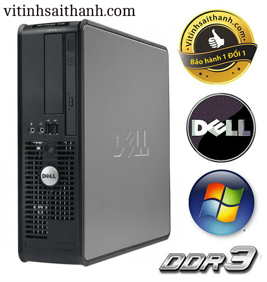 DELL OPTIPLEX 780 SFF CORE2 QUAD Q8300/ DDR3 4GB HDD 250GB 7200 RPM