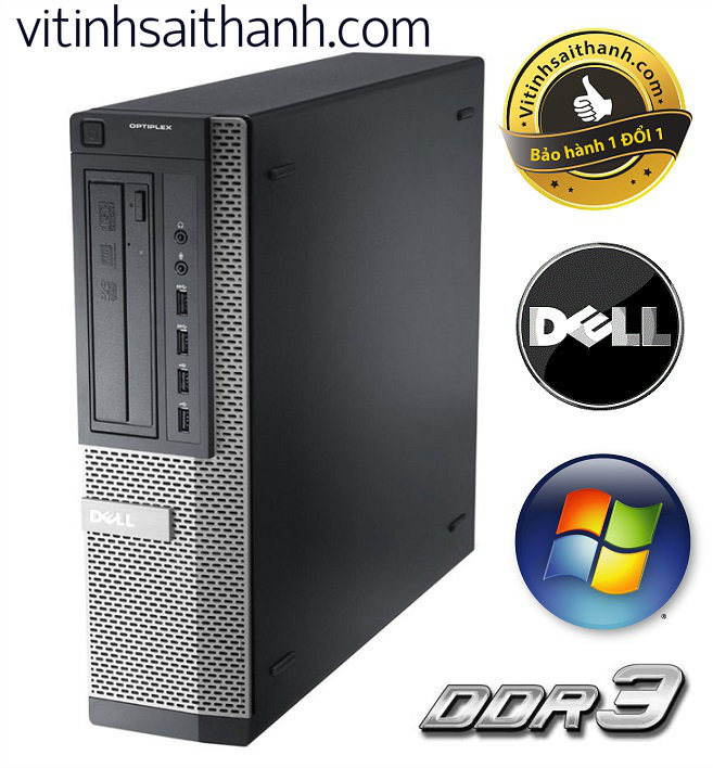 DELL OPTIPLEX 790 SFF CORE I7 2600 SANDY BRIDGE DDR3 4GB - HDD 500GB