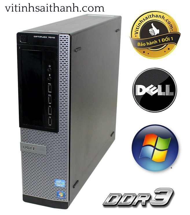 DELL OPTIPLEX 7010 DT I7 3770 IVY BRIDGE DDR3 8GB - HDD 500GB