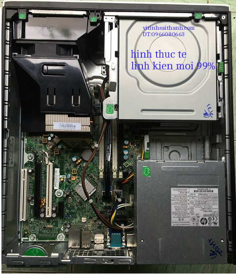 HP 6200 PRO SFF CORE I3 2100 - SANDY BRIDGE DDR3 4GB - HDD 160GB