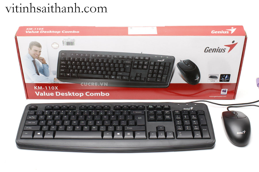 KEYBOARD & MOUSE GENIUS 110X USB